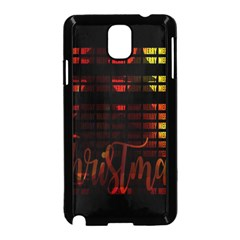 Christmas Advent Gloss Sparkle Samsung Galaxy Note 3 Neo Hardshell Case (black) by Nexatart