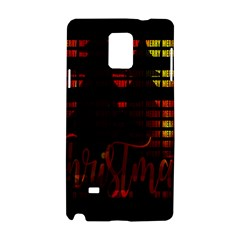 Christmas Advent Gloss Sparkle Samsung Galaxy Note 4 Hardshell Case by Nexatart