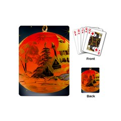 Christmas Bauble Playing Cards (mini)
