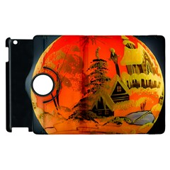 Christmas Bauble Apple Ipad 3/4 Flip 360 Case by Nexatart