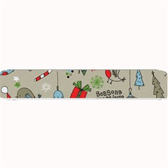 Christmas Xmas Pattern Small Bar Mats