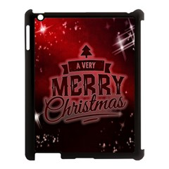 Christmas Contemplative Apple Ipad 3/4 Case (black) by Nexatart