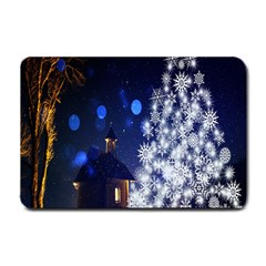 Christmas Card Christmas Atmosphere Small Doormat
