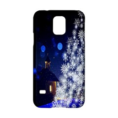 Christmas Card Christmas Atmosphere Samsung Galaxy S5 Hardshell Case  by Nexatart