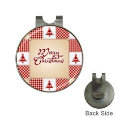 Christmas Xmas Patterns Pattern Hat Clips With Golf Markers