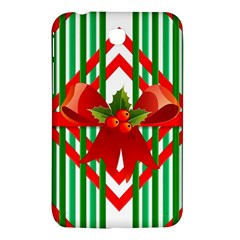 Christmas Gift Wrap Decoration Red Samsung Galaxy Tab 3 (7 ) P3200 Hardshell Case
