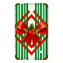 Christmas Gift Wrap Decoration Red Samsung Galaxy Tab 4 (8 ) Hardshell Case  by Nexatart