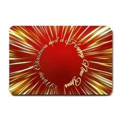 Christmas Greeting Card Star Small Doormat