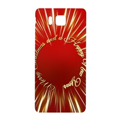 Christmas Greeting Card Star Samsung Galaxy Alpha Hardshell Back Case by Nexatart