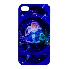 Christmas Nicholas Ball Apple Iphone 4/4s Premium Hardshell Case by Nexatart