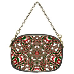 Christmas Kaleidoscope Chain Purses (two Sides)  by Nexatart