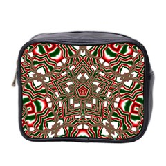 Christmas Kaleidoscope Mini Toiletries Bag 2-side