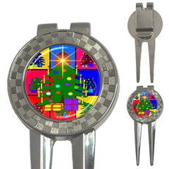 Christmas Ornaments Advent Ball 3 In 1 Golf Divots by Nexatart