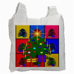 Christmas Ornaments Advent Ball Recycle Bag (one Side)