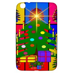 Christmas Ornaments Advent Ball Samsung Galaxy Tab 3 (8 ) T3100 Hardshell Case  by Nexatart