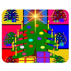 Christmas Ornaments Advent Ball Double Sided Flano Blanket (medium)