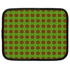 Christmas Paper Wrapping Patterns Netbook Case (xxl)  by Nexatart