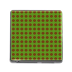 Christmas Paper Wrapping Patterns Memory Card Reader (square) by Nexatart