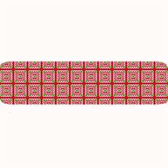Christmas Paper Wrapping Pattern Large Bar Mats by Nexatart
