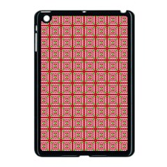 Christmas Paper Wrapping Pattern Apple Ipad Mini Case (black) by Nexatart