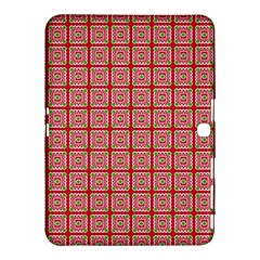 Christmas Paper Wrapping Pattern Samsung Galaxy Tab 4 (10 1 ) Hardshell Case  by Nexatart
