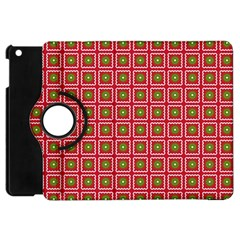 Christmas Paper Wrapping Apple Ipad Mini Flip 360 Case by Nexatart