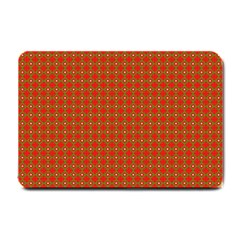 Christmas Paper Wrapping Paper Pattern Small Doormat