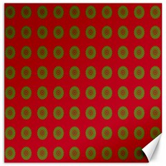 Christmas Paper Wrapping Paper Canvas 12  X 12