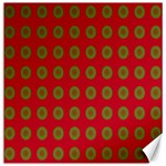 Christmas Paper Wrapping Paper Canvas 12  x 12   12 x12 Canvas - 1