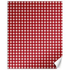 Christmas Paper Wrapping Paper Canvas 11  X 14