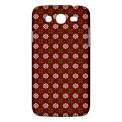 Christmas Paper Wrapping Pattern Samsung Galaxy Mega 5 8 I9152 Hardshell Case  by Nexatart