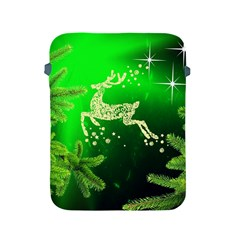 Christmas Reindeer Happy Decoration Apple Ipad 2/3/4 Protective Soft Cases