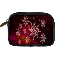 Christmas Snowflake Ice Crystal Digital Camera Cases