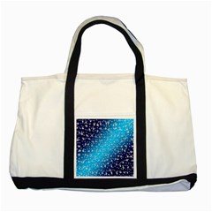Christmas Star Light Advent Two Tone Tote Bag by Nexatart