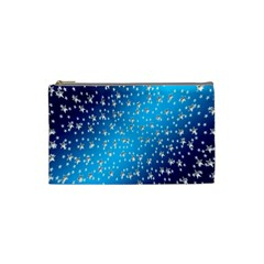 Christmas Star Light Advent Cosmetic Bag (small)  by Nexatart