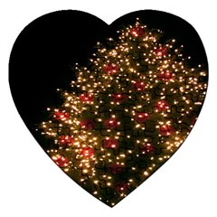 Christmas Tree Jigsaw Puzzle (heart)