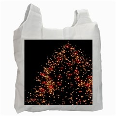 Christmas Tree Recycle Bag (one Side) by Nexatart