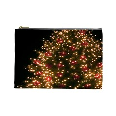 Christmas Tree Cosmetic Bag (large)  by Nexatart