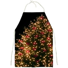 Christmas Tree Full Print Aprons by Nexatart