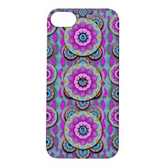 Magic Flowers From  The Paradise Of Lotus Apple Iphone 5s/ Se Hardshell Case by pepitasart