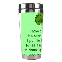Little Frog Poem Stainless Steel Travel Tumblers by athenastemple