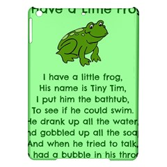 Little Frog Poem Ipad Air Hardshell Cases by athenastemple