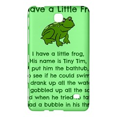Little Frog Poem Samsung Galaxy Tab 4 (8 ) Hardshell Case  by athenastemple