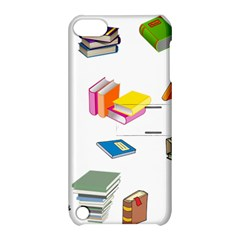 Bookworm Pattern Apple Ipod Touch 5 Hardshell Case With Stand