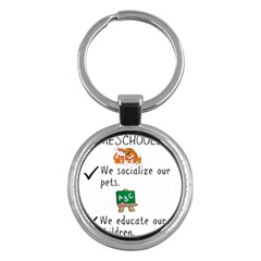Homeschoolers Socialize Key Chains (round)