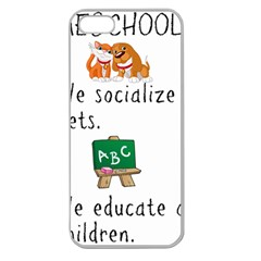 Homeschoolers Socialize Apple Seamless Iphone 5 Case (clear) by athenastemple