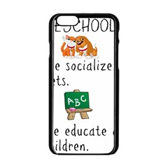 Homeschoolers Socialize Apple Iphone 6/6s Black Enamel Case by athenastemple