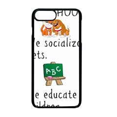 Homeschoolers Socialize Apple Iphone 7 Plus Seamless Case (black) by athenastemple