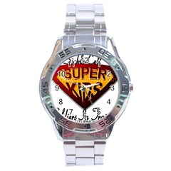 Sickle Super Kids  Stainless Steel Analogue Watch