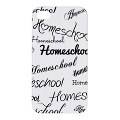 Homeschool Apple Iphone 4/4s Hardshell Case by athenastemple